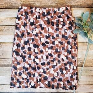 J.Crew Abstract Skirt Size 2